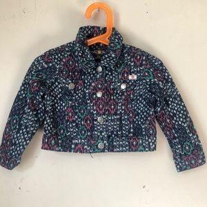 Lucky Brand Girls Children's Jeans Jacket Size 2T